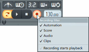 Fl_Studio_Recording_Filter_options