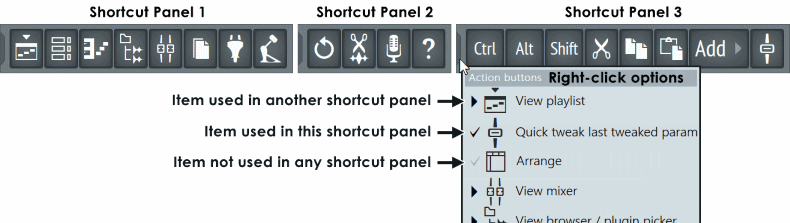 Fl_studio_Shortcut_Panel