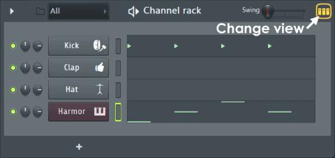 Изучаем пошаговый секвенсор (Channel Window & Step Sequencer).