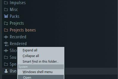 Изучение меню браузера в Fl Studio