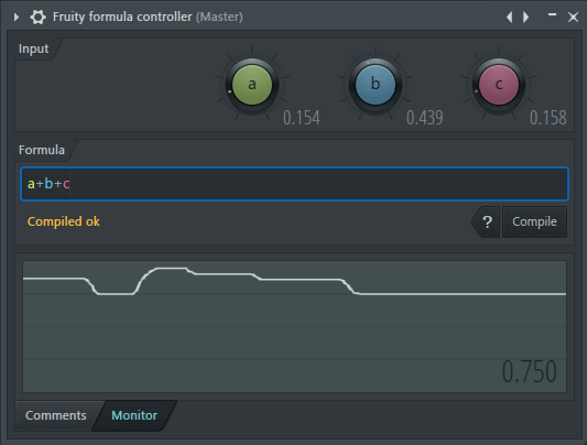 Fruity Formula Controller