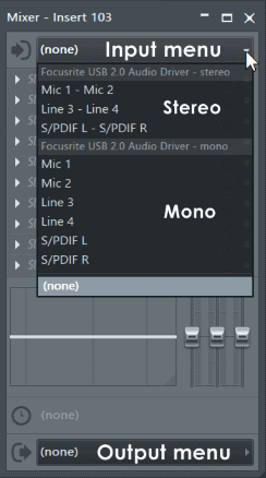 микшер fl studio 12