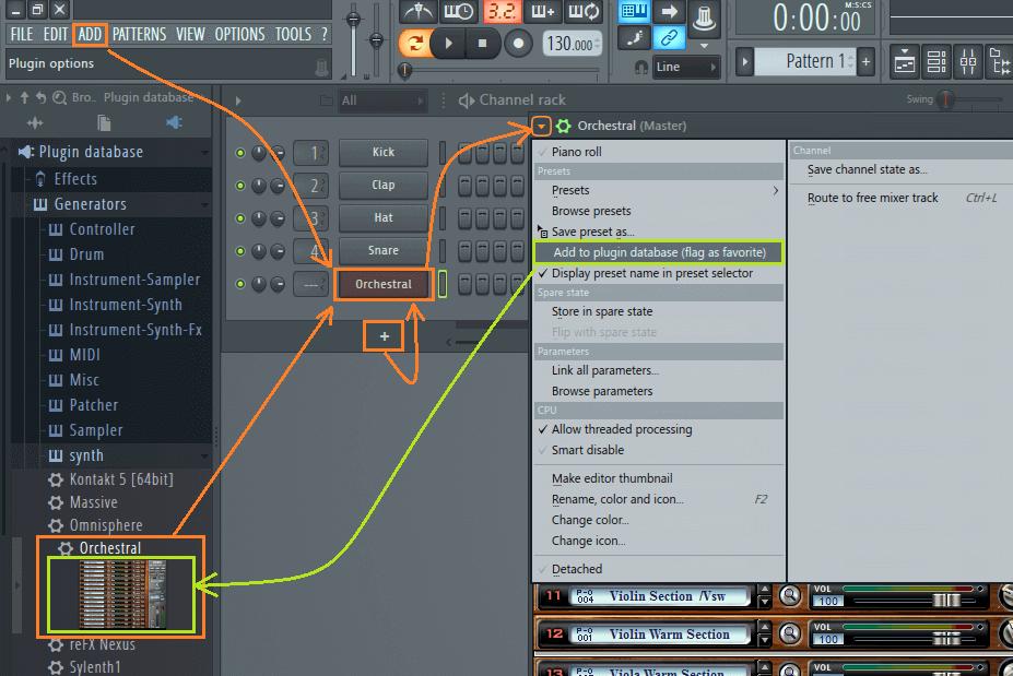 Как добавлять vst плагины в FL Studio 12