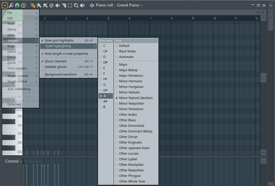 написания мелодии и аккордов в fl studio 12.