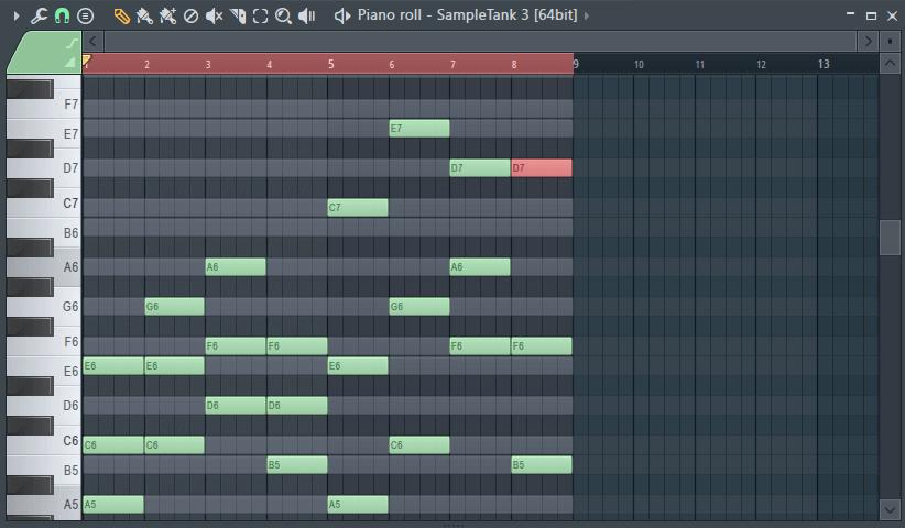 Составление аккордов в fl studio 12