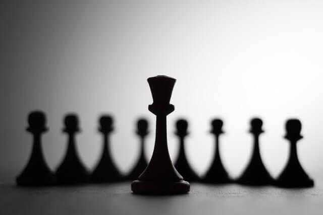 шахмата в размытии