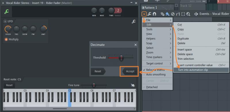 Автоматическая компрессия с плагинами Vocal Rider и Bass Rider от Waves